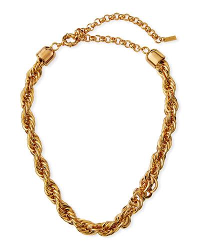 Yacht Club X Wide Choker Necklace