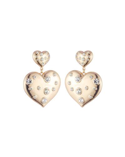 Amante Double-Heart Earrings
