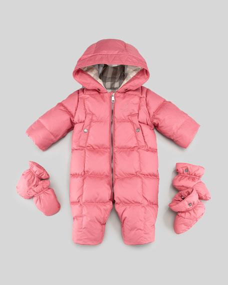 3b5e138d7 Burberry Skylar Down Feather Puffer Snowsuit