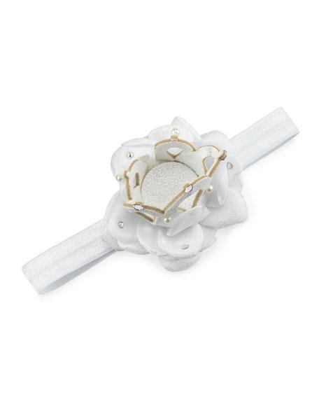 Stretch Floral Crown Headband