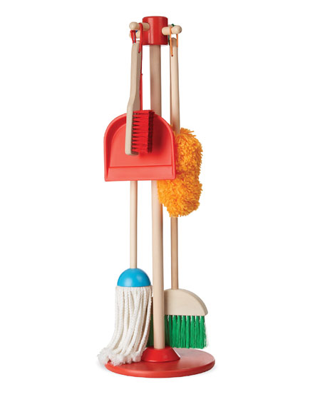 Image 1 of 1: Let's Play House Dust, Sweep & Mop Set