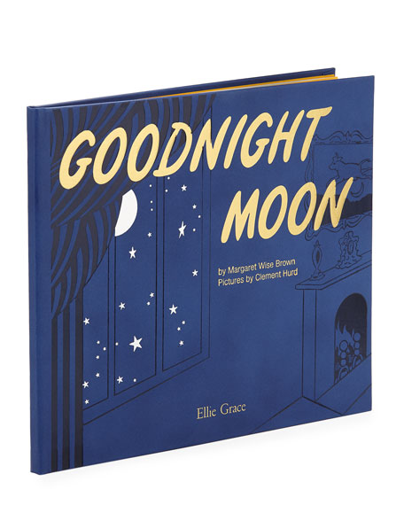 """Personalized """"Goodnight Moon"""" Children's Book by Margaret Wise Brown"""
