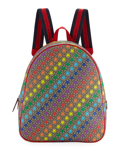 6ea2a6c54 Kids' Colorful Stargirl GG Supreme Backpack Quick Look. Gucci