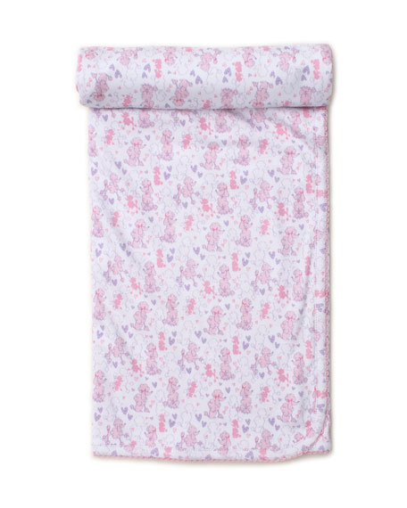 Image 1 of 1: Oodles of Poodles Pima Baby Blanket