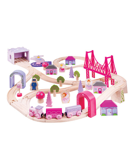 Image 1 of 1: Fairy Town Train Set
