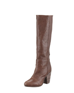 Rag & Bone Newbury Leather Knee Boot