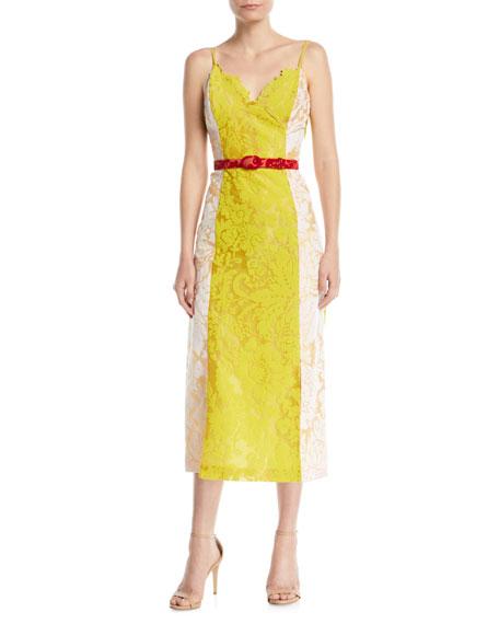 Belted Slip Dress