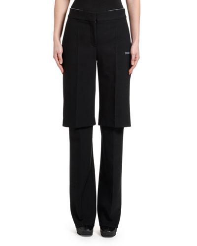 Double-Layer Pants