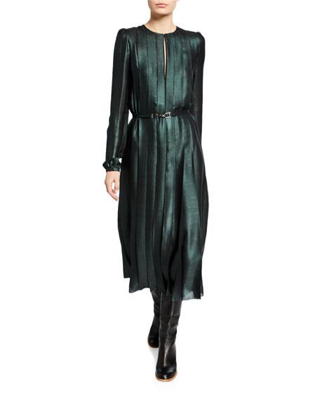 Adelaide Iridescent Midi Dress
