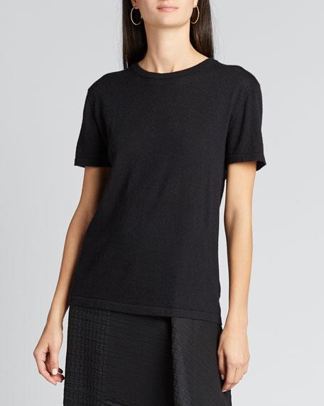 Cashmere Short-Sleeve T-Shirt