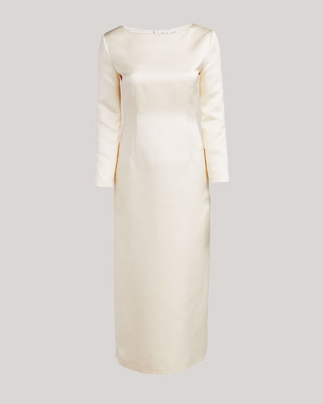 Anke Long-Sleeve Midi Dress