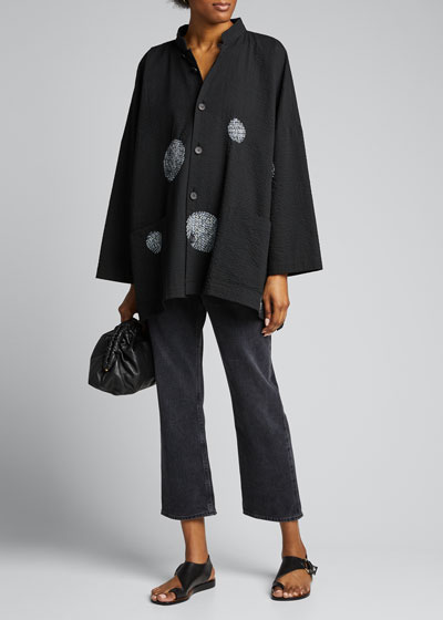 Cotton Mandarin Jacket