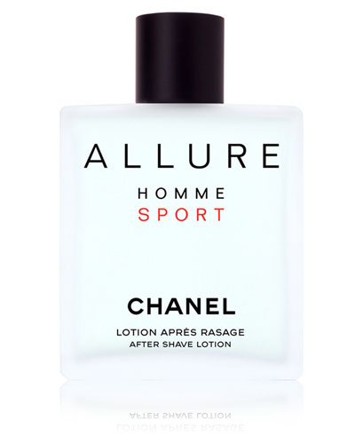 <b>ALLURE HOMME SPORT</b><br>After Shave Lotion, 3.4 oz.
