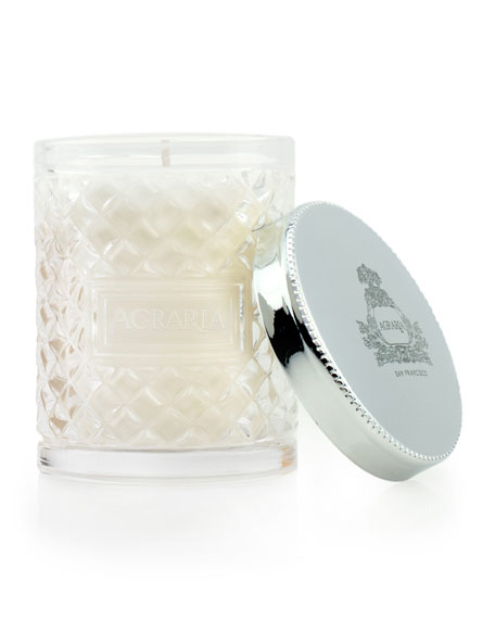 Lavender & Rosemary Crystal Cane Candle, 3.4 oz.