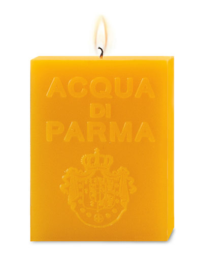 Yellow Cube Candle  Colonia