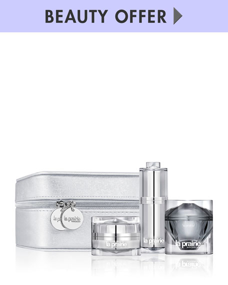 Receive a free 4-piece bonus gift with your $500 La Prairie purchase