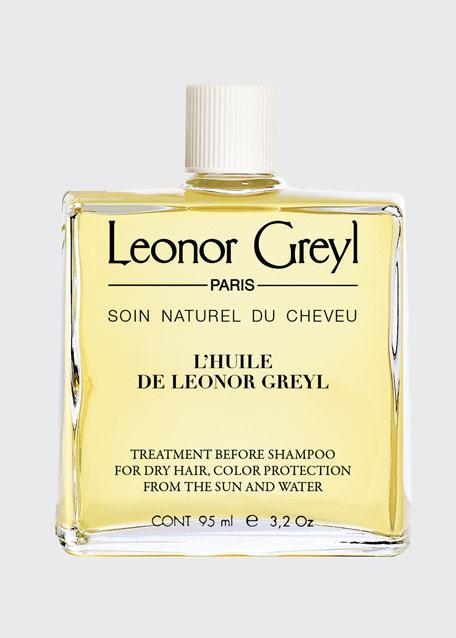 Huile de Leonor Greyl (Color Protecting Pre-Shampoo Treatment for Dry Hair), 3.2 oz./ 95 mL