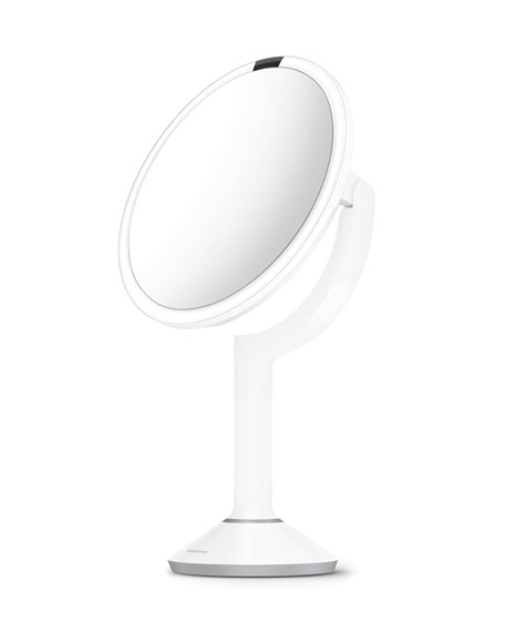 "Exclusive 8"" Sensor Mirror Trio, White"