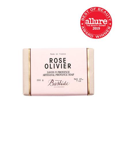 Rose Olivier Artisanal Provence Soap  7 oz. /200 g