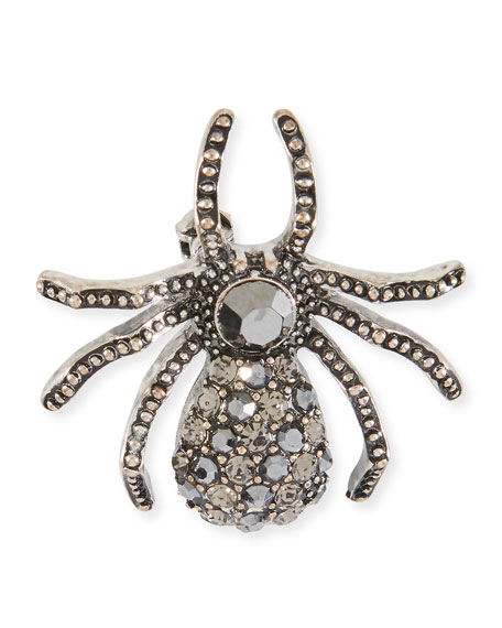Exclusively Bergdorf Goodman Embellished Silver Baby Spider Hair