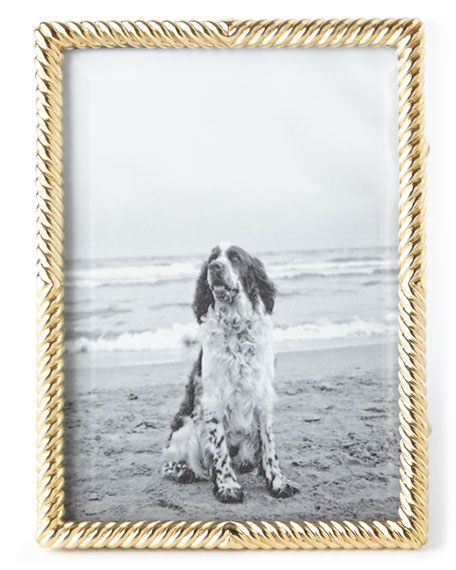 """Gold Deco Twist 5"""" x 7"""" Picture Frame"""