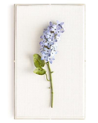 Original Painted Lilac Study