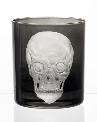Skull Double Old-Fashioned Glass