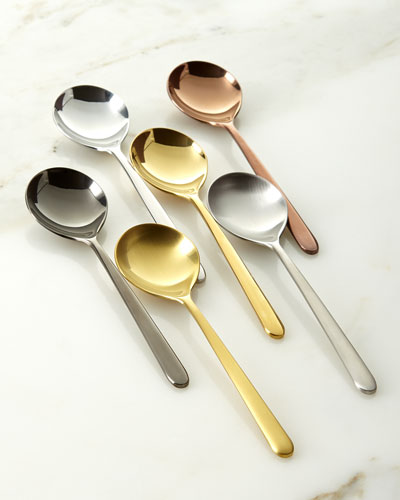 Due Assorted Coffee Spoons  Set of 6