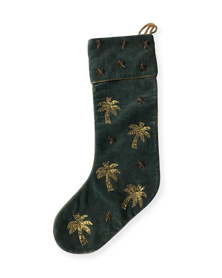 Palm Tree Stocking
