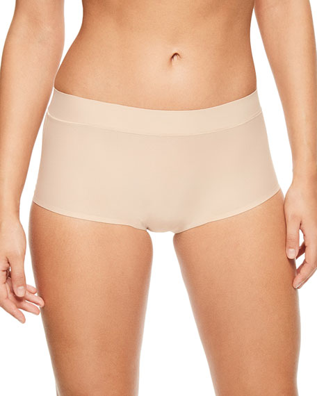 Image 1 of 1: Soft Stretch Boyshort Briefs