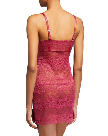 Boudoir Semisheer Lace Full Slip
