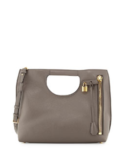 Alix Leather Padlock & Zip Tote Bag