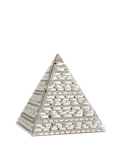 Austrian Crystal Pyramid Clutch Bag