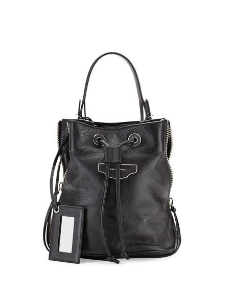 d306d38778 Balenciaga Papier Plate Side-Zip Bucket Bag