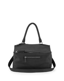 Pandora Medium Sugar Pebbled Leather Shoulder Bag