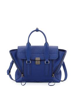 Pashli Medium Leather Satchel Bag