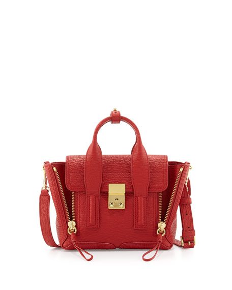 3.1 Phillip Lim Pashli Mini Leather Satchel Bag