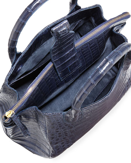 Medium Christina Crocodile Tote Bag