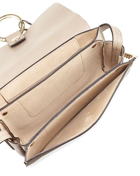 Faye Small Suede Shoulder Bag