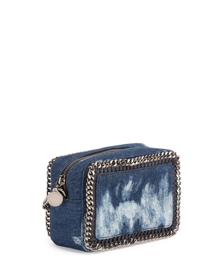 Love Denim Crossbody/Clutch Bag, Blue