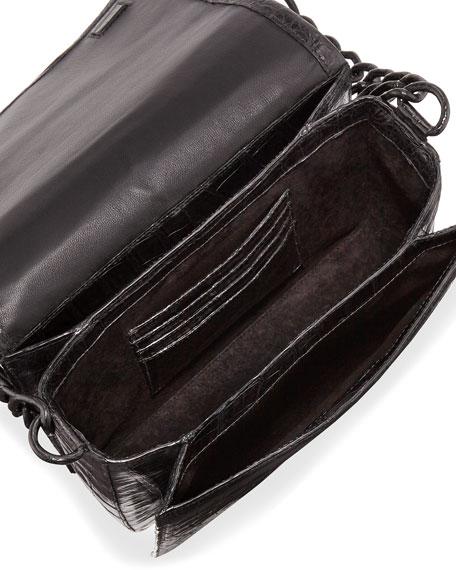 Jumbo Gio Crocodile Crossbody Bag