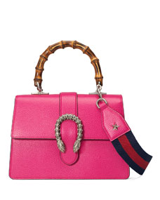 09d6001e3a9 Gucci Dionysus Small Leather Top-Handle Bag