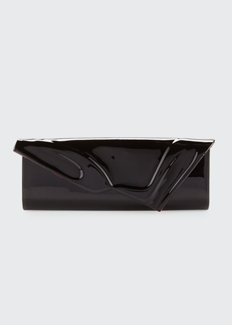So Kate Patent East-West Clutch Bag, Black