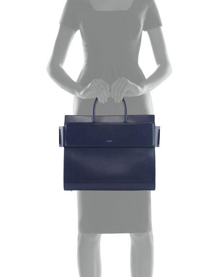 Horizon Medium Smooth Leather Satchel Bag