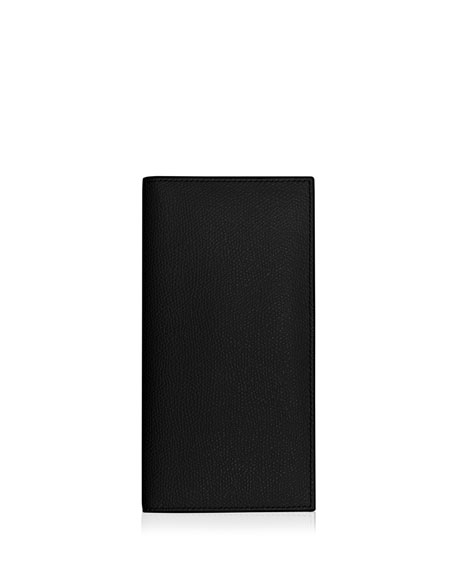Vertical Leather Wallet