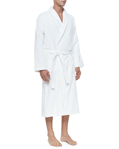 Terry Cloth Robe  White