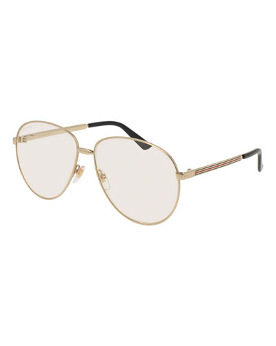 Unisex Universal Fit Round Metal Sunglasses