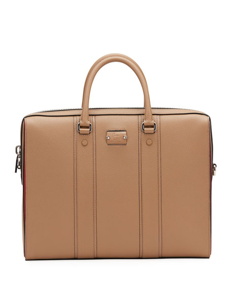 Men's Streetwall Leather Briefcase