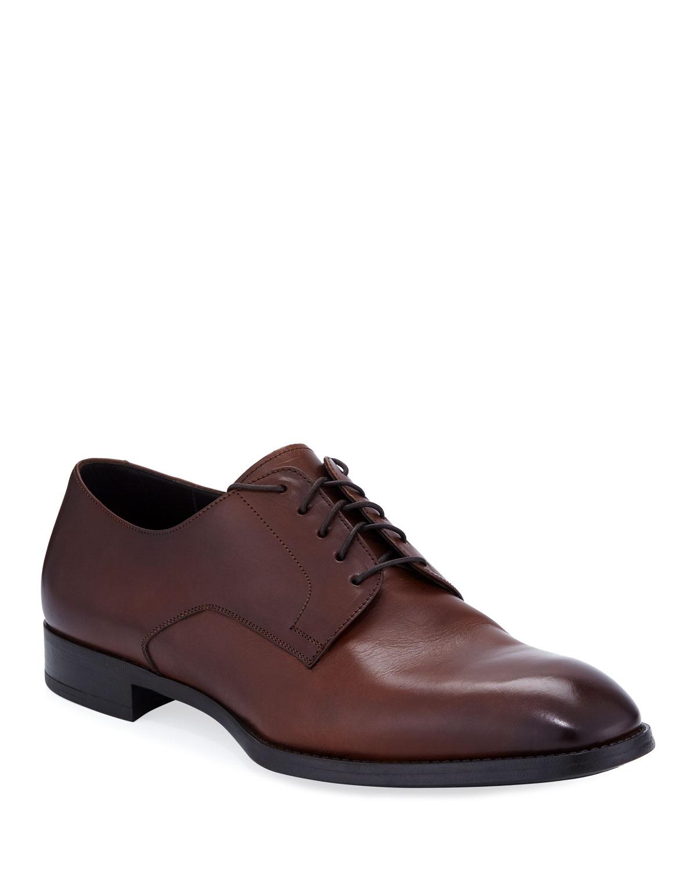 Giorgio Armani Men's Leather Derby