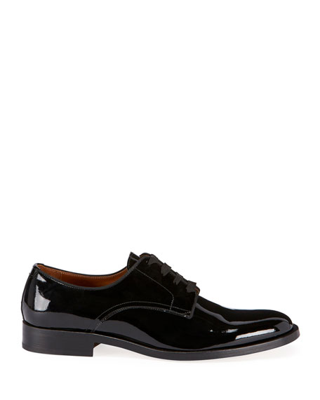 Men's Rider Lace-Up Derby Shoes in Leather